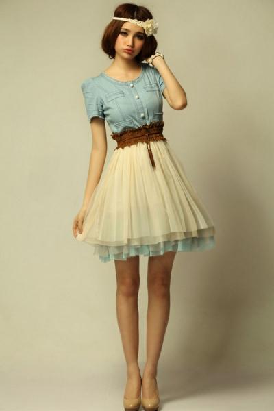 Dream feeling Vintage  Dress - OASAP.com