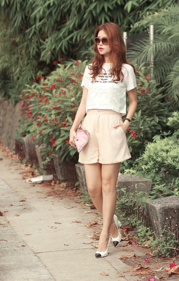 mellow mayo sunglasses top shorts bag shoes shirt skirt socks hat