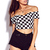 Checkered Crop Top | FOREVER 21 - 2000110572