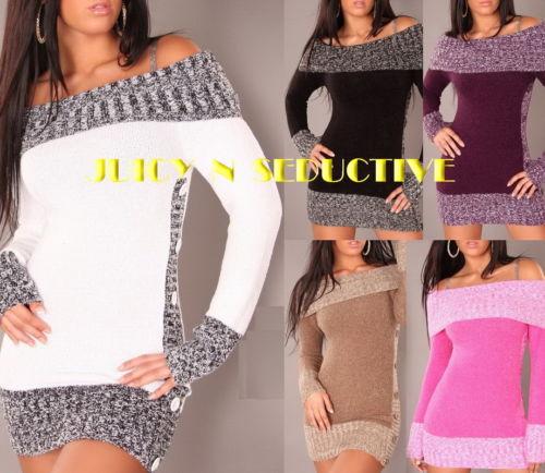 Sexy Soft Knit Sweater Jumper s M L XL | eBay