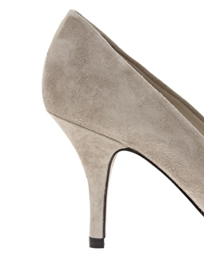 Whistles | Whistles Cassini Nude Heeled Shoes at ASOS