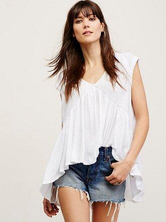 top tunic top white top