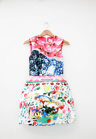 dress colorful patterns bright