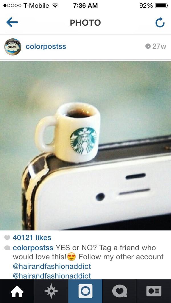 iphone technology starbucks coffee jewels