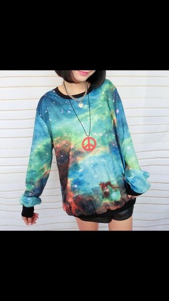 sweater galaxy sweater