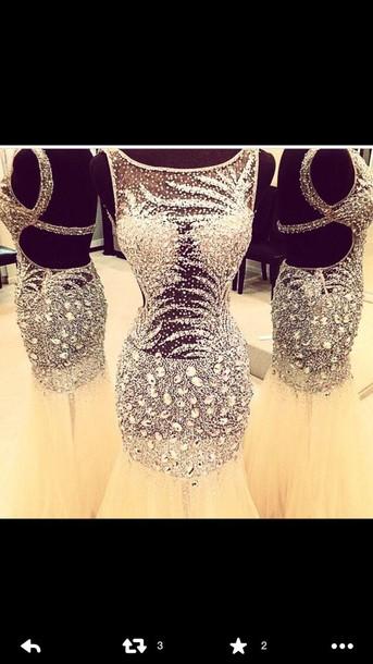 dress prom dress homecoming dress see through dress see through
