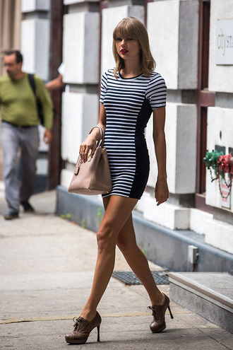 dress mini dress taylor swift shoes bag