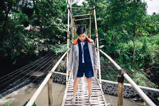 bryan boy blogger coat menswear