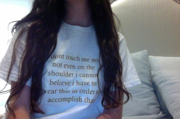 shirt tumblr quote on it graphic tee