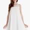 White cloud dress