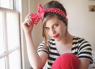polka dots bow wish wish wish wishwishwish red hat hat