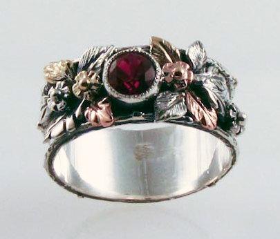 Ruby Renaissance Ring by FernandoJewelry on Etsy