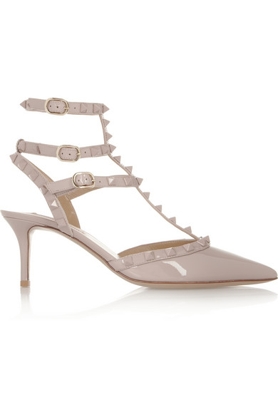 Valentino | Rockstud patent-leather pumps | NET-A-PORTER.COM