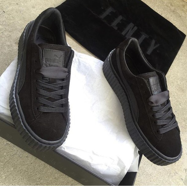 puma shoes black colour