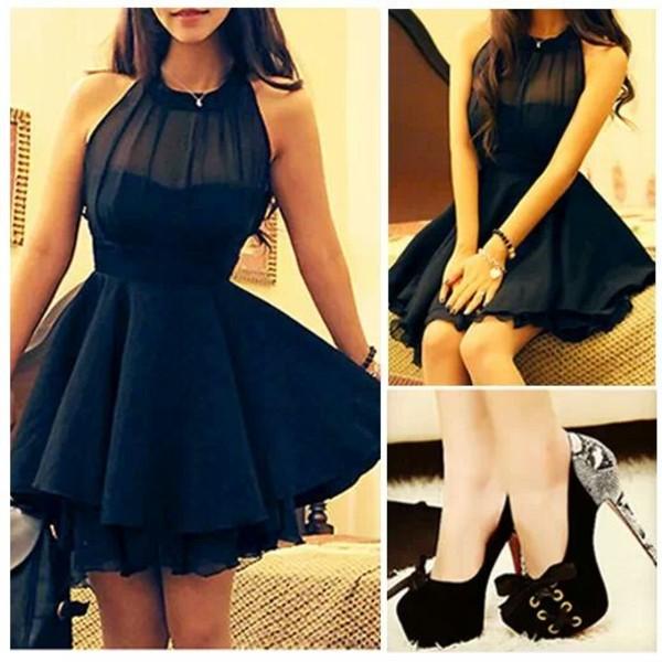 dress 21st black little black dress fucking love it shoes