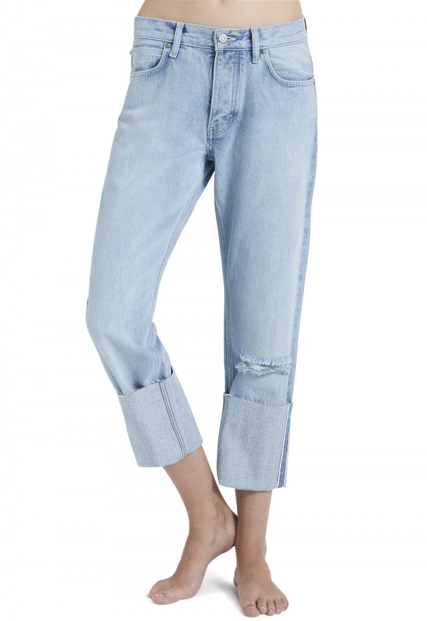 The PHOEBE Jean - MID RISE, SLOUCH LEG - Grover - MiH Jeans