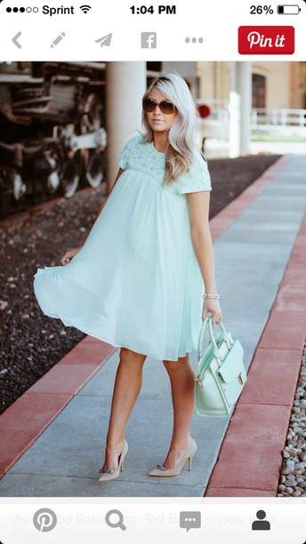 dress ted bakes ss14 collection light blue