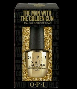 Amazon.com: OPI Limited Edition Skyfall 007 Nail Lacquer Collection, The Man With The Golden Gun, 0.5 Fluid Ounce: Beauty