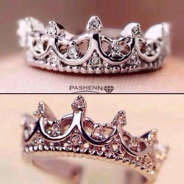 jewels pashenn princess crown  ring