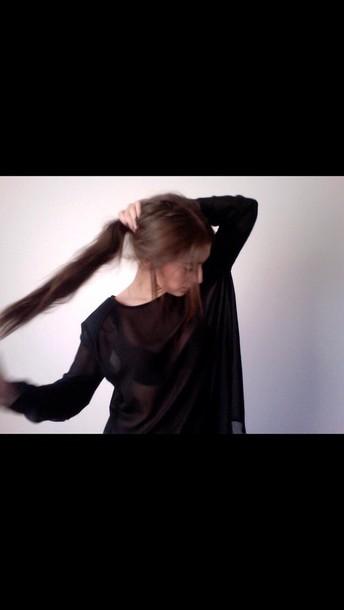 top mesh blouse