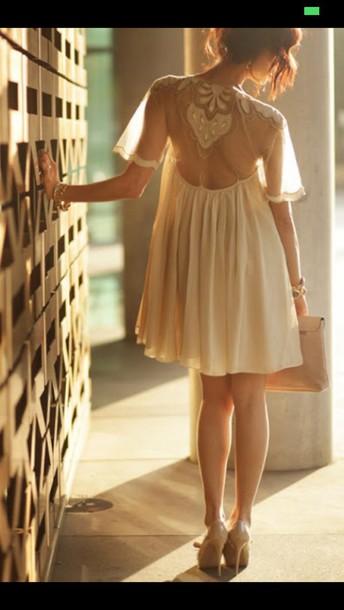 dress white dress short dress see through
