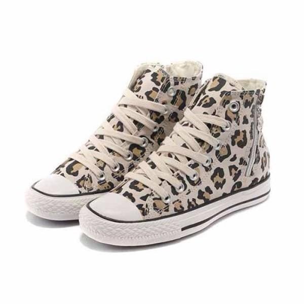 shoes converse leopard print size3