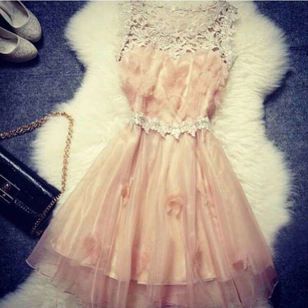 dress lace lace dress pink pink dress flowers pink flowers