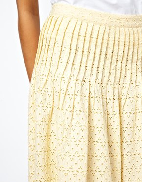 YMC | YMC Lace Skirt at ASOS