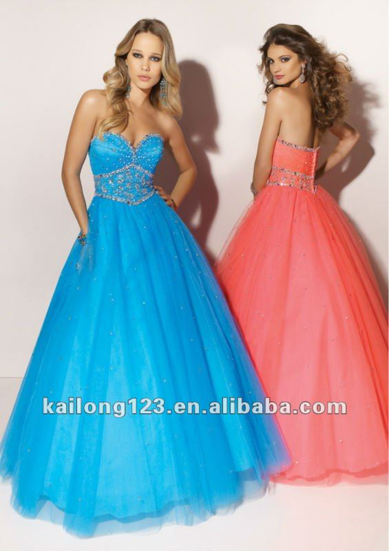 2012 Sexy Strapless Beaded Organza Royal Blue Wedding Dresses - Buy Royal Blue Wedding Dresses,Wedding Dress 2012,Wedding Gown Product on Alibaba.com
