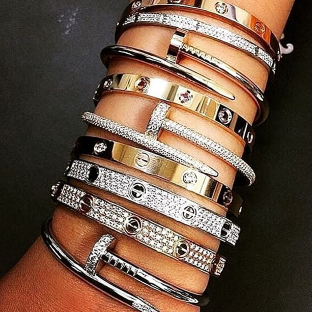 jewels, bracelets, kylie jenner, jewelry, lovesadores, kylie ...