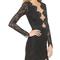 For love & lemons noir lace mini dress | shopbop