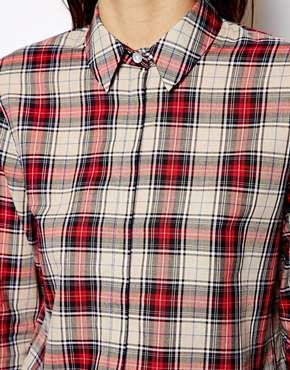 ASOS | ASOS Shirt in Traditional Check at ASOS