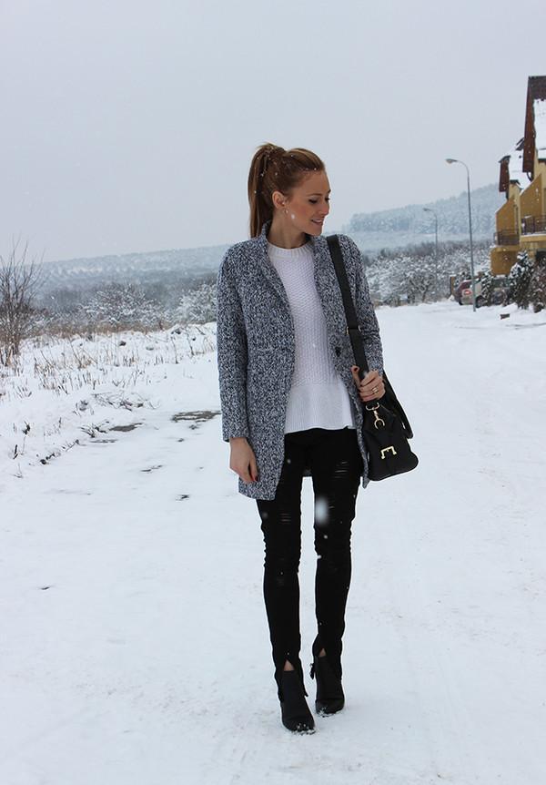 fashion spot coat shoes bag