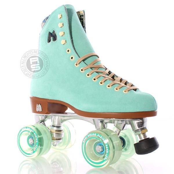 Moxi Roller Skates | Moxi Lolly Roller Skates in Floss Teal at Skate Sale