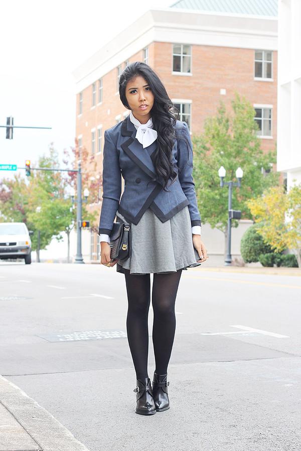 fashion of a novice dress jacket shoes bag jewels