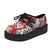 Spring Sports PU Star Round Toe Sneakers : KissChic.com