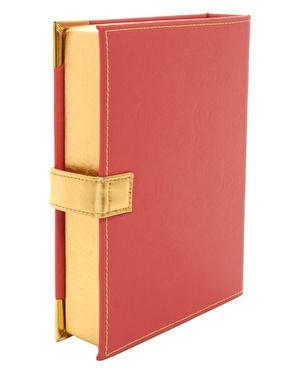 ASOS | ASOS Book Clutch Bag With Metal Corners at ASOS