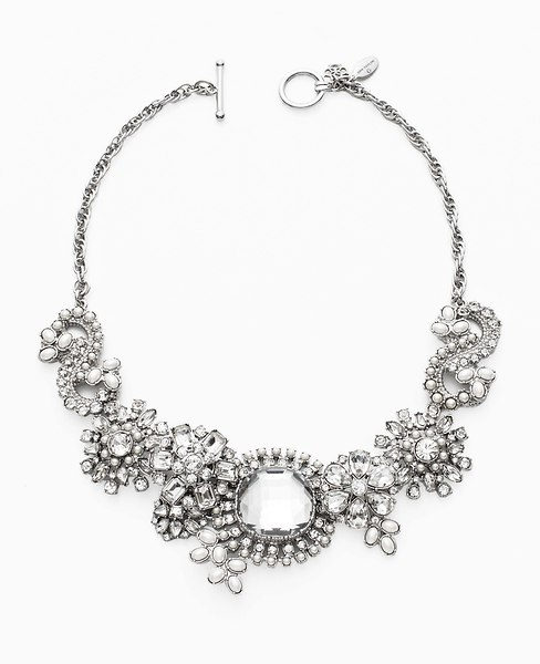 Paisley Chunky Statement Necklace | Ann Taylor
