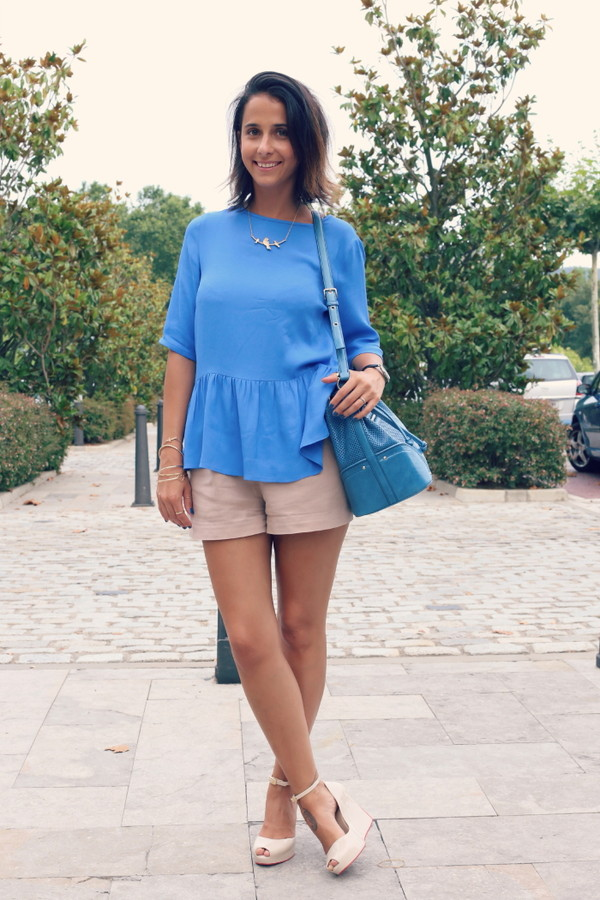 style in lima t-shirt shorts shoes bag jewels