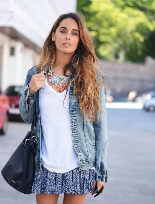 stella wants to die jewels t-shirt jacket skirt bag