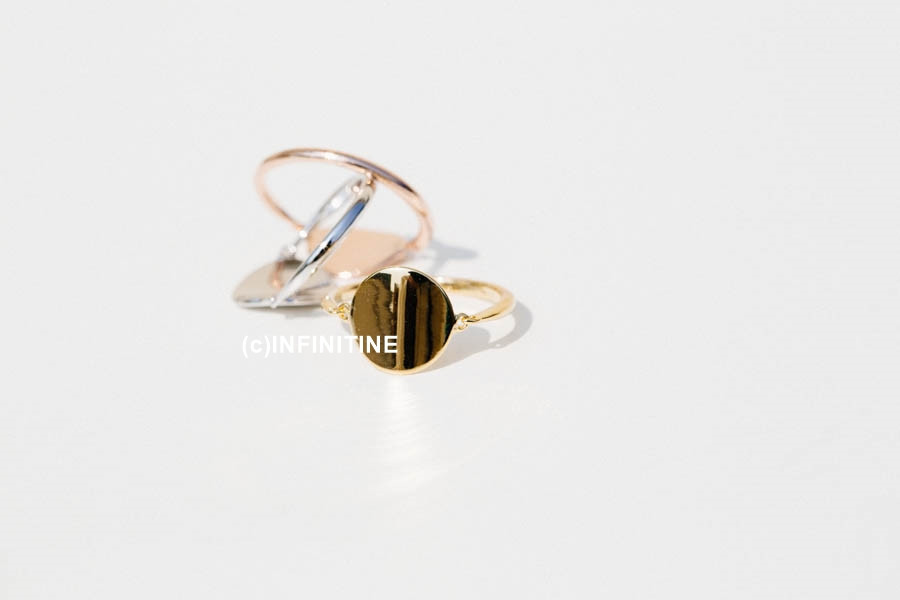 glazed round plate knuckle ring,RN 2488