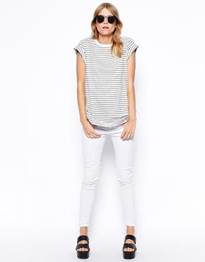 ASOS | ASOS - Lot de 3 t-shirts boyfriend avec manches retroussées - ECONOMIE DE 20% chez ASOS