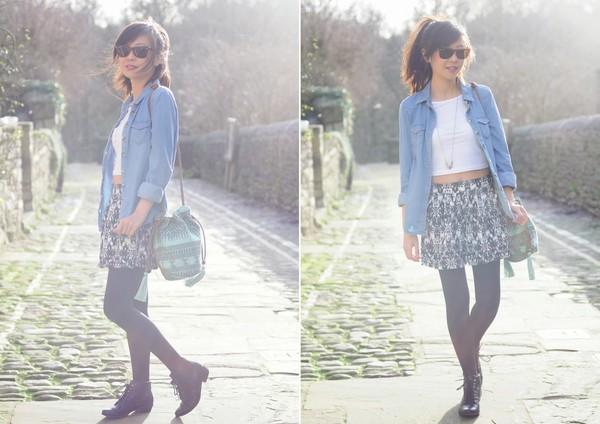 temporary secretary shirt shorts t-shirt bag jewels sunglasses shoes