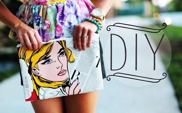 bag phillip lim comics comics clutch evelinas fashion cafe link vogue magazine diy