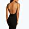 Petite gemma low scoop back bodycon dress