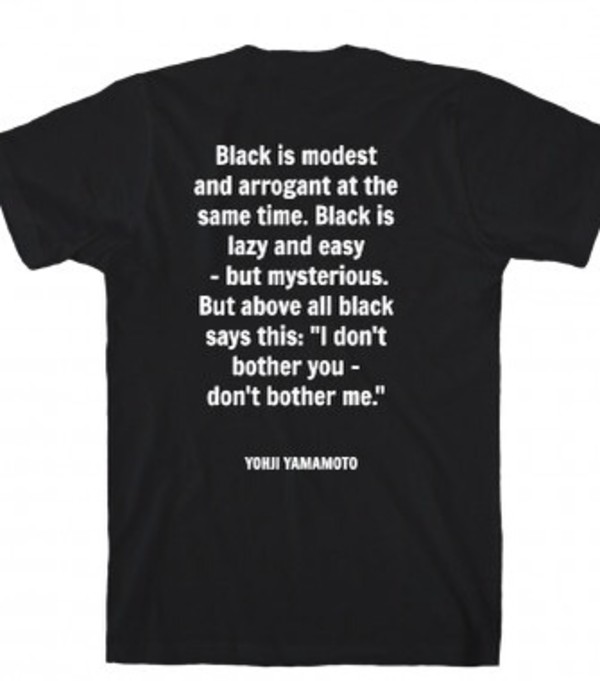 top black with white wolftyla quote on it