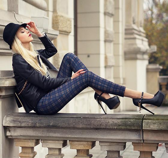Zara Pants, Wilady Heels - Rock Revolution - MERI WILD  ♥ | LOOKBOOK