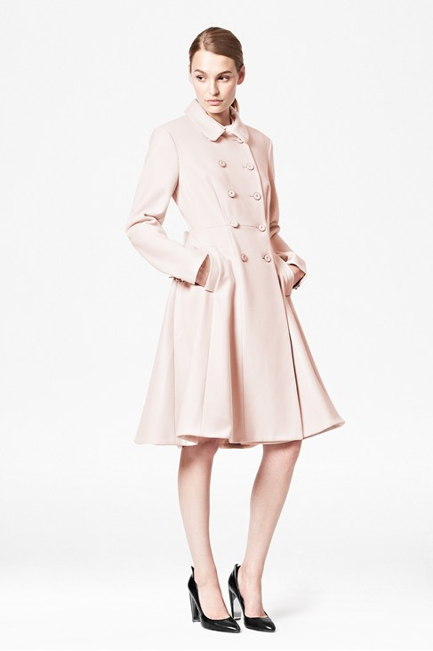 Glorious Wool Flared Coat - Jackets & Coats - French Connection Usa