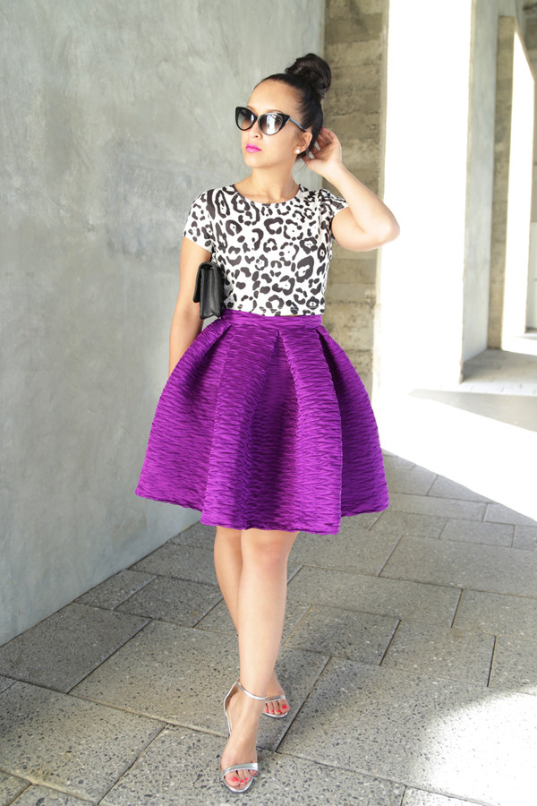 ktr style top skirt shoes bag sunglasses