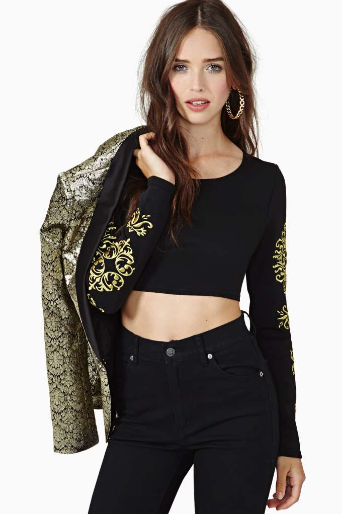 Gilty Pleasure Crop Top in  Clothes at Nasty Gal